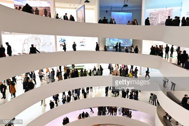 Guests attend as Lavazza continues to grow partnership with The Solomon R. Guggenheim Museum in New York supporting the latest exhibition,...