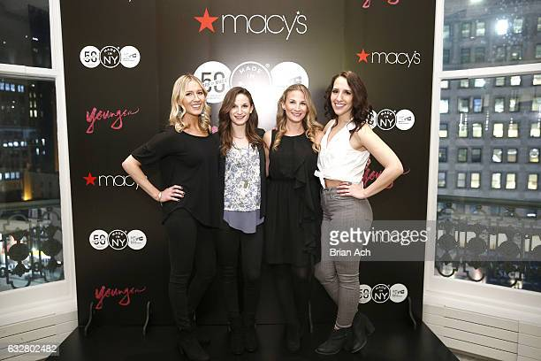 Guests attend as Macy's celebrates the 50th Anniversary of the Mayor's Office Of Media And Entertainment with fashion show curated by costume...