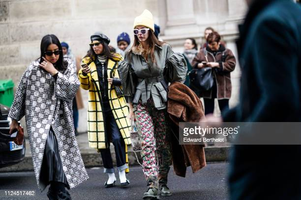 Guests attend Atelier JeanPaul Gaultier during Paris Fashion Week Haute Couture Spring Summer 2019 on January 23 2019 in Paris France