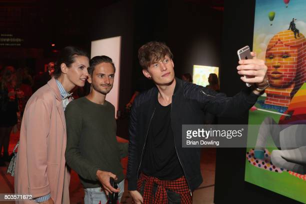Guests attend Bacardi X The Dean Collection Present No Commission Berlin on June 29 2017 in Berlin Germany