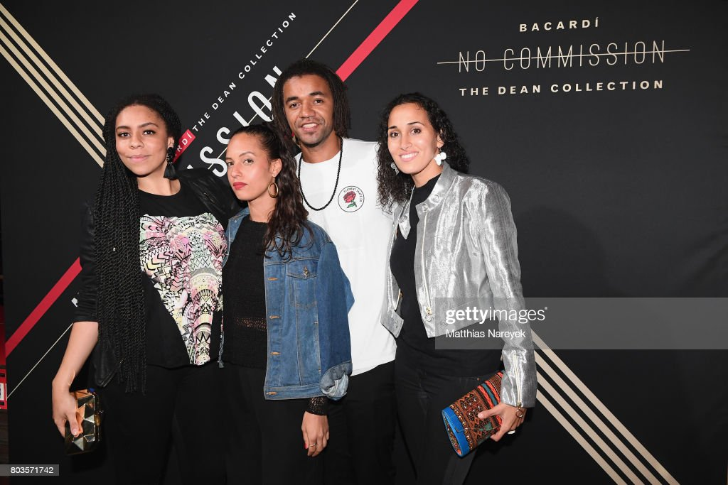 Guests attend Bacardi X The Dean Collection Present: No Commission Berlin on June 29, 2017 in Berlin, Germany.