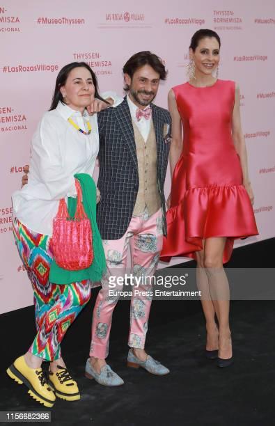 Guests attend 'Balenciaga Y La Pintura Española' exhibition opening on June 17 2019 in Madrid Spain