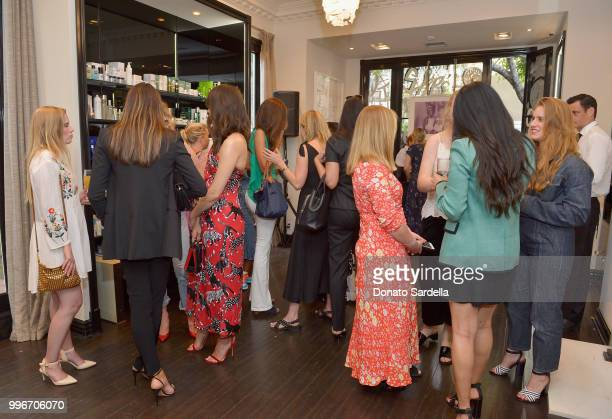 Guests attend Beats by Dre for VIOLET GREY Party on July 11 2018 in Los Angeles California