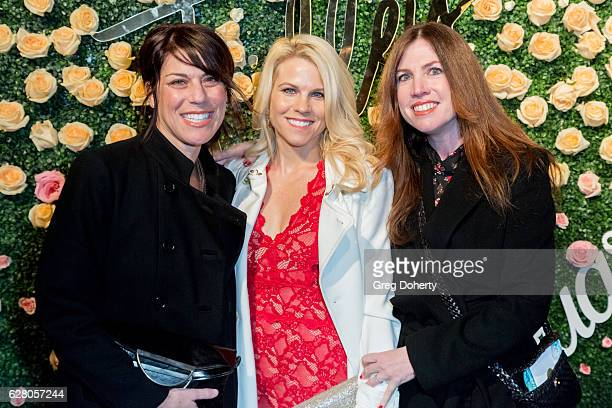 Guests attend Becca Tilley's Blog And YouTube Launch Party at The Bachelor Mansion on December 5 2016 in Los Angeles California