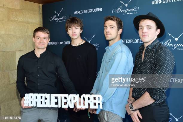 Guests attend Breguet Marine Collection Launch at Little Beach House Malibu on July 11 2019 in Malibu California
