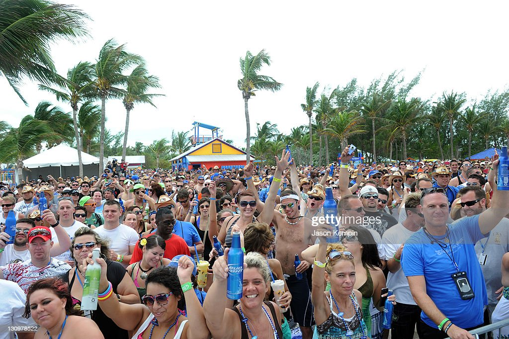Guests Attend Bud Light Port Paradise 4 Concert During Bud Light Port  Paradise Cruise On October