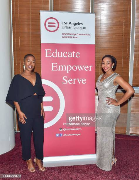 Guests attend Byron Allen Honored by Los Angeles Urban League on April 18 2019 in Hollywood California