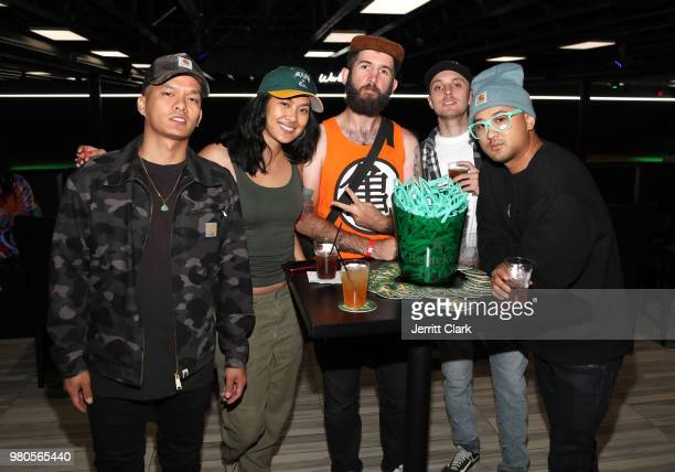 Guests attend CAA's BET Awards Week KickOff Party in Partnership with Heineken at World of Wheels on June 20 2018 in Los Angeles California