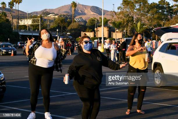 Guests attend California's 1st Drive-In Dance Party with A-Trak, hosted by Global Soundemic, at Ventura County Fairgrounds and Event Center on August...