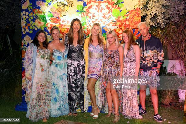 Guests attend Camilla Miami Swim Week 2018 Event at Faena Hotel on July 13 2018 in Miami Beach Florida