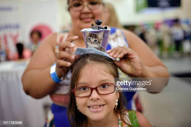 Guests attend CatCon Worldwide 2018 at Pasadena Convention Center on August 4 2018 in Pasadena California