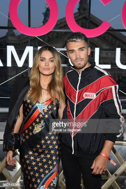 Guests attend Chanel's Coco Game Club event Photocall at Galeries Lafayette Haussmann on June 20 2018 in Paris France