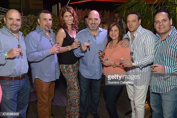 Guests attend Cigars Spirits Presented By Montage Hotels Resorts Brought To You By Cigar Aficionado And Whisky Advocate during the Food Network South...