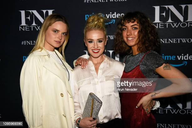 Guests attend Cocktails Art At New York Fashion Week Powered by Art Hearts Fashion NYFW at The Angel Orensanz Foundation on February 8 2019 in New...