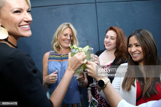 Guests attend cocktails at goopin@Nordstrom at The Grove hosted by Gwyneth Paltrow Olivia Kim Rick Caruso on June 8 2017 in Los Angeles California