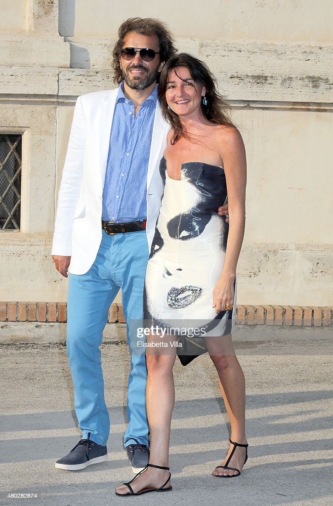 Guests attend 'Couture / Sculpture' Vernissage Cocktail honoring Azzedine Alaia in the history of fashion as part of AltaRoma AltaModa Fashion Week Fall/Winter 2015/16 at Galleria Borghese on July 10, 2015 in Rome, Italy.