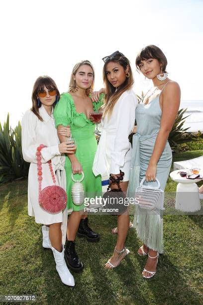 Guests attend Cult Gaia's FirstEver Runway Presentation In Los Angeles on December 9 2018 in Malibu California