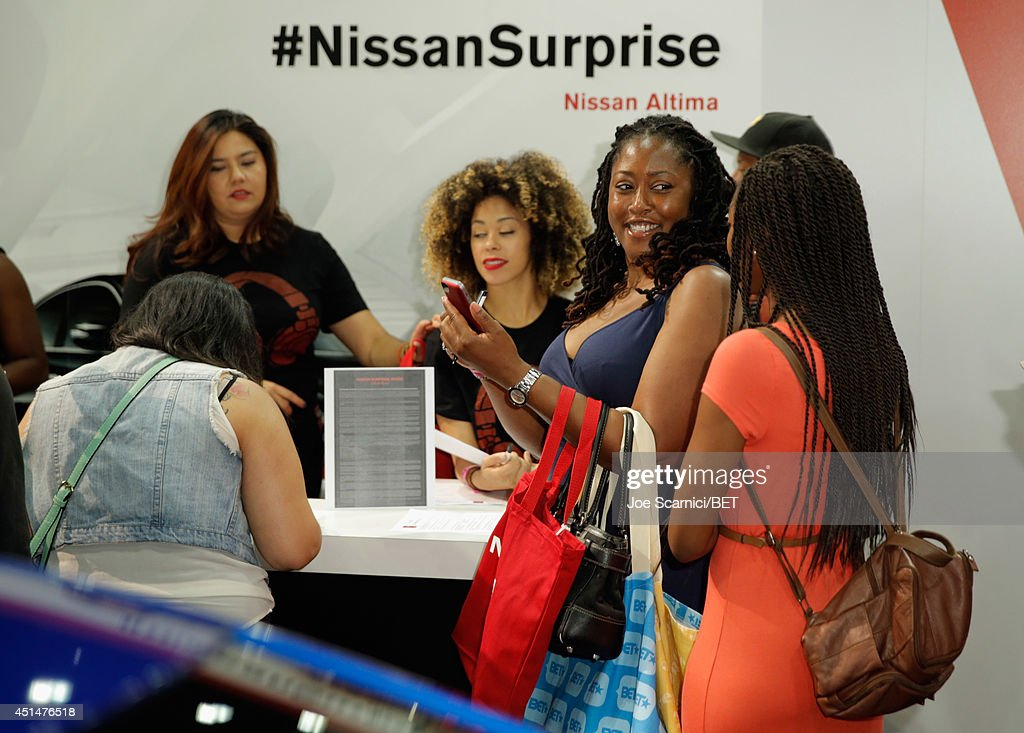 Guests attend day 2 of the Fan Fest Nissan 'Surprise Inside
