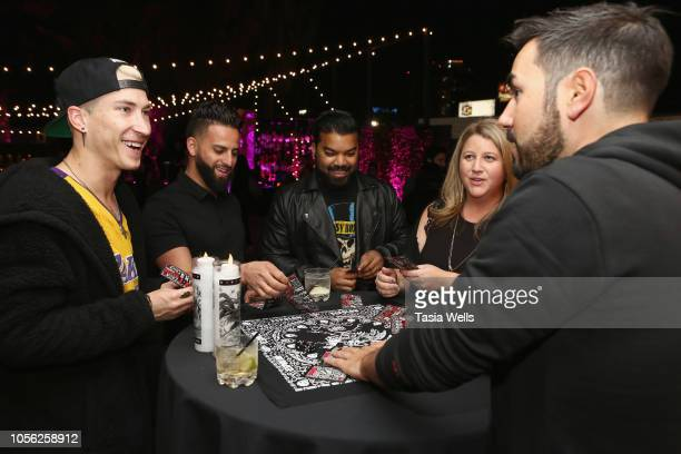 Guests attend Espolòn Celebrates Day of the Dead at Academy Nightclub on November 1 2018 in Hollywood California