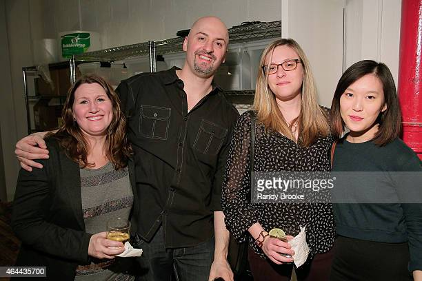 Guests attend FilmRise Celebrates new office in Industry City Brooklyn at FilmRise on February 25 2015 in Brooklyn New York