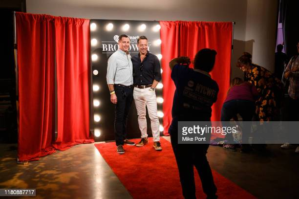 Guests attend Four Roses Bourbon's Broadway Tastes presented by iHeartRadio Broadway hosted by Alex Brightman with special guest Randy Rainbow during...