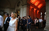 rome italy guests attend french national