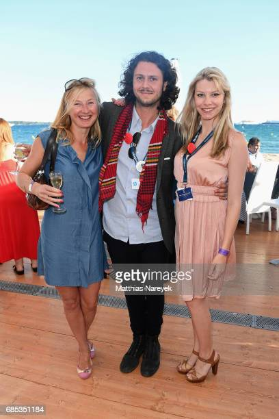 Guests attend From Dhaka to Cannes A Celebration of Talent hosted by the International Emerging Film Talent Association at La Plage Royale on May 19...