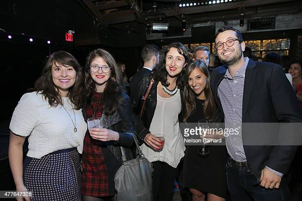Guests attend GREY GOOSE Vodka Hosts The Inaugural Mic50 Awards at Marquee on June 18 2015 in New York City