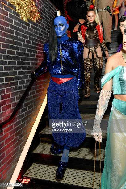 Guests attend Heidi Klum's 20th Annual Halloween Party presented by Amazon Prime Video and SVEDKA Vodka at Cathédrale New York on October 31 2019 in...