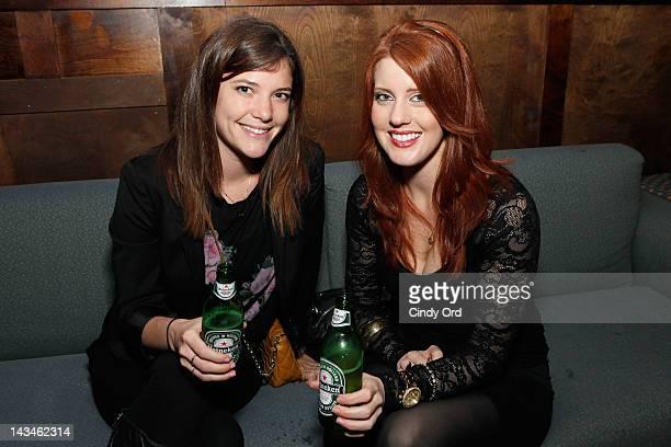 Guests attend Heineken Presents Side by Side Fan QA on April 26 2012 in New York City