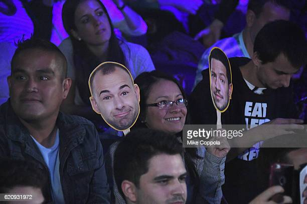 Guests attend Impractical Jokers Live Nitro Circus Spectacular at Prudential Center on November 3 2016 in Newark New Jersey JPG