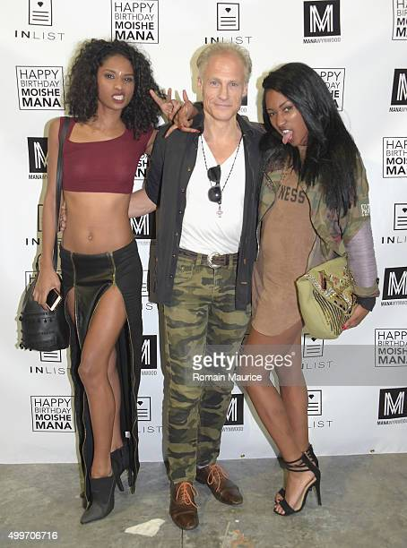 Guests attend InList 1 Year Anniversary and Moishe Mana Birthday at Mana Wynwood on December 2 2015 in Miami Florida