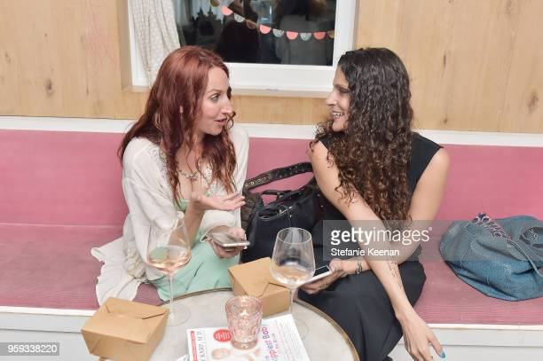 Guests attend Jessica Biel and Dr Harvey Karp Celebrate Moms Dads and their Favorite Helper the SNOO at Au Fudge Los Angeles on May 16 2018 in West...