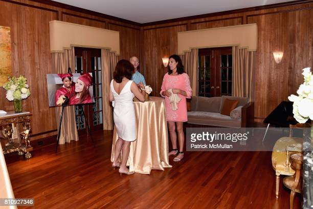 Guests attend Katrina and Don Peebles Host NY Mission Society Summer Cocktails at Private Residence on July 7 2017 in Bridgehampton New York