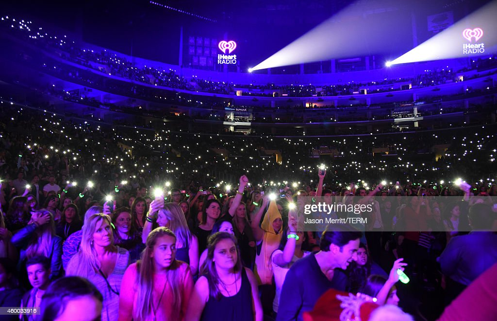 Guests attend KIIS FM's Jingle Ball 2014 powered by LINE at Staples Center on December 5, 2014 in Los Angeles, California.