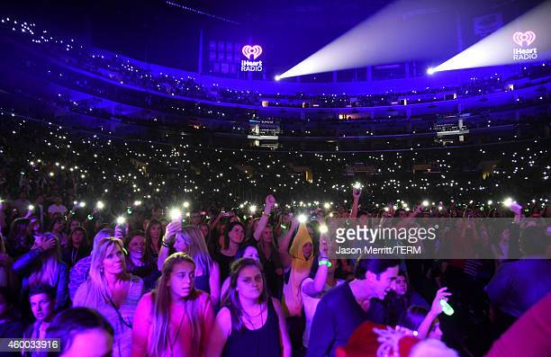 Guests attend KIIS FM's Jingle Ball 2014 powered by LINE at Staples Center on December 5 2014 in Los Angeles California