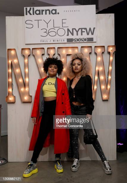 Guests attend Klarna STYLE360 Hosts Andy Hilfiger Presents Artistix By Greg Polisseni Presentation/See Shop on February 12 2020 in New York City