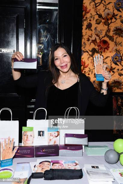 Guests attend Leesa Rowland's Animal Ashram PopUp Penthouse on February 7 2018 in New York City