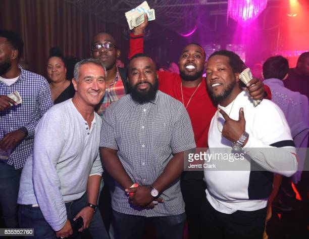 Guests attend Lil Pump's 17th Birthday Party at Ace Of Diamonds on August 17 2017 in West Hollywood California