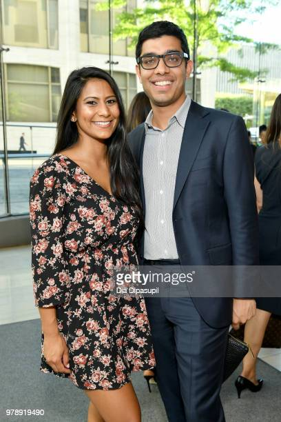 Guests attend Lincoln Center Corporate Fund's Stand Up Sing for the Arts at Alice Tully Hall on June 19 2018 in New York City