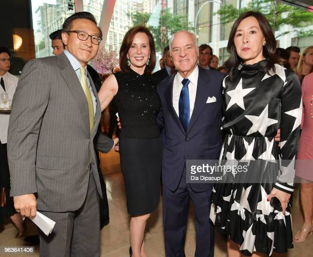 Guests attend Lincoln Center's American Songbook Gala at Alice Tully Hall on May 29 2018 in New York City