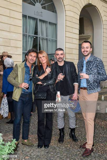 Guests attend Luisa Beccaria Home Collection for Moda Operandi on April 16 2018 in Milan Italy