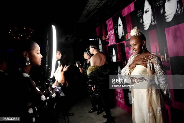Guests attend MAC Cosmetics Aaliyah Launch Party on June 14 2018 in Hollywood California
