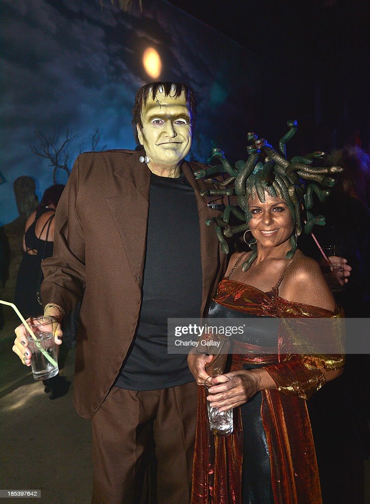 Guests attend MAC Cosmetics and Rick Baker's Monster Mash on October 19, 2013 in Glendale, California.