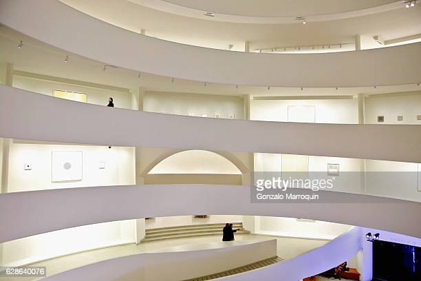 Guests attend MARINA 70 at Solomon R Guggenheim Museum on December 8 2016 in New York City