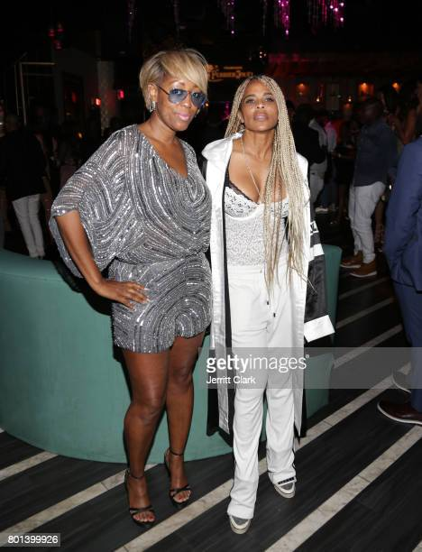 Guests attend Mark Pitts Bystorm Ent 7th Annual Post BET Awards Party hosted by DJ Khaled on June 25 2017 in Los Angeles California