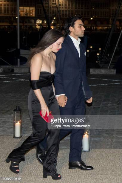 Guests attend Marta Ortega's Wedding preparty at Nautical Club on November 16 2018 in A Coruna Spain
