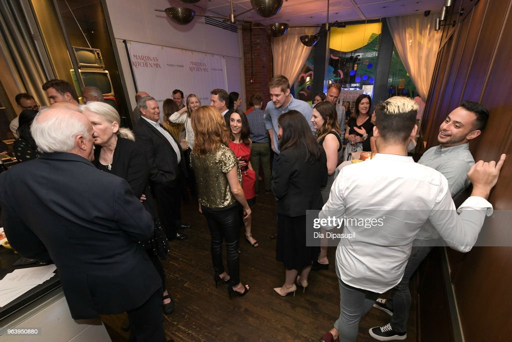 Guests attend Martina McBride Announces Forthcoming Cookbook 'Martina's Kitchen Mix' at Chef's Club on May 30, 2018 in New York City.