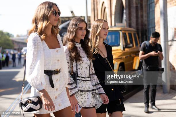 Guests attend MercedesBenz Fashion Week Resort 20 Collections on May 14 2019 in Sydney Australia