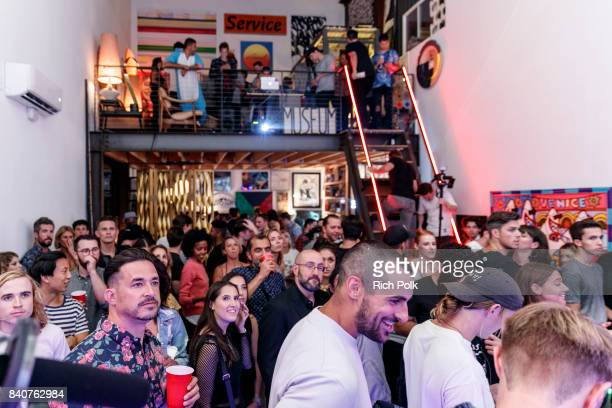 Guests attend MTV's Dare To Live Premiere Party at WNDO Space on August 29 2017 in Venice California